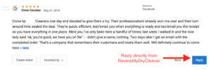 Respond to Online Reviews from ReviewMyDryCleaner